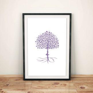 DigitalArt Tree of Life pink Sahasrara 03